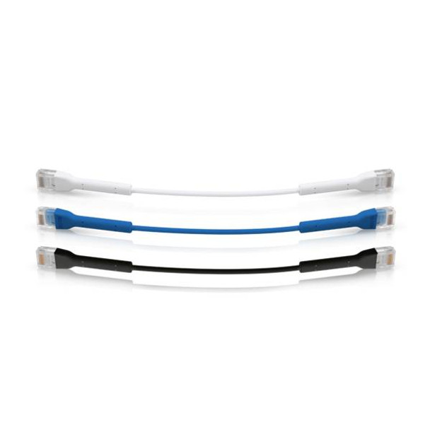 Ubiquiti UC-Patch-RJ45-BK UniFi Ethernet Patch Cable, 0.1M, Black