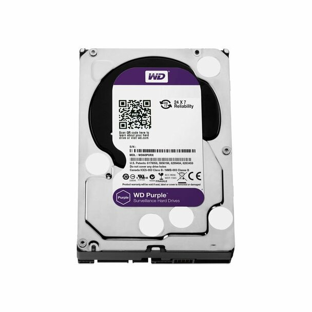 LTS DHWD60PURZ WD Purple 6TB Surveillance Hard Drive