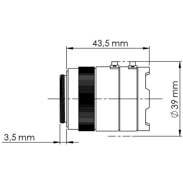 Mobotix MX-O-SMA-S-6DCS 6MP Day Moonlight Sensor Module White