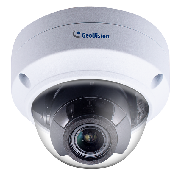 Geovision GV-TVD4711 4MP IR H.265 Outdoor Dome IP Security Camera, 4.3x Optical Zoom