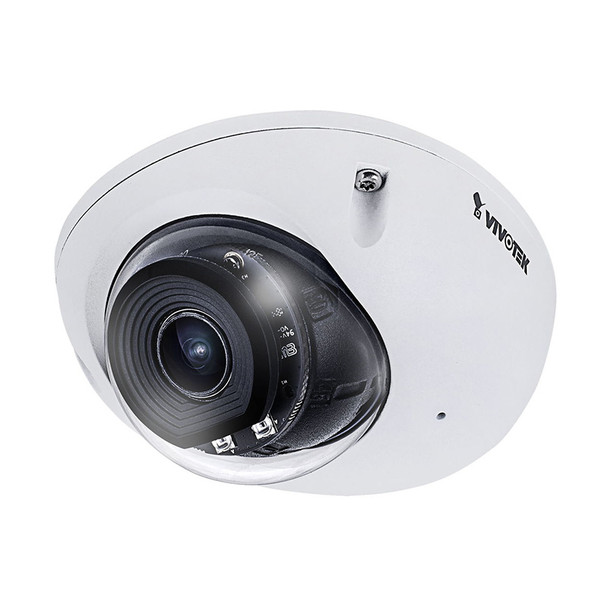 Vivotek MD9561-HF2 2MP H.265 IR Mobile Outdoor Dome IP Security Camera with WDR Pro and M12
