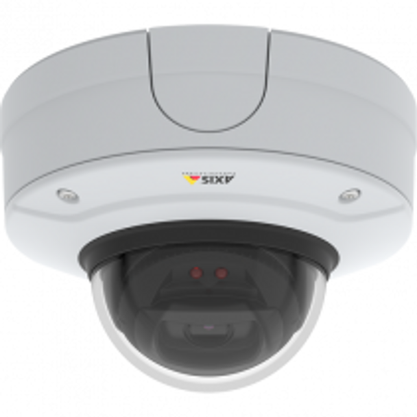 AXIS Q3527-LVE 5MP IR Outdoor Dome IP Security Camera with Enhanced Security- 01565-001