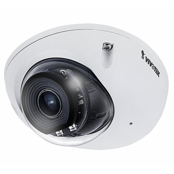 Vivotek MD9560-DHF3 2MP H.265 IR Mobile Outdoor Dome IP Security Camera with DC and 3.6mm Fixed Lens