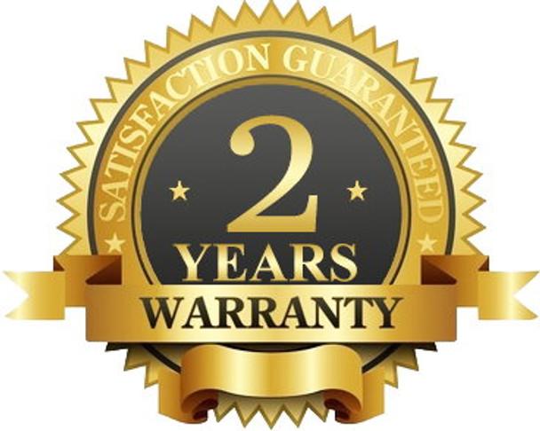2-Year Manufacturer Warranty
