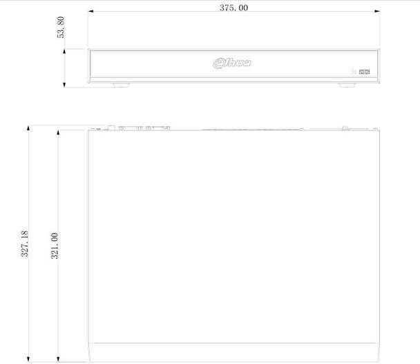 Dahua DHI-NVR4216-16P-I 16 Channel 1U 16 PoE AI Network Video Recorder