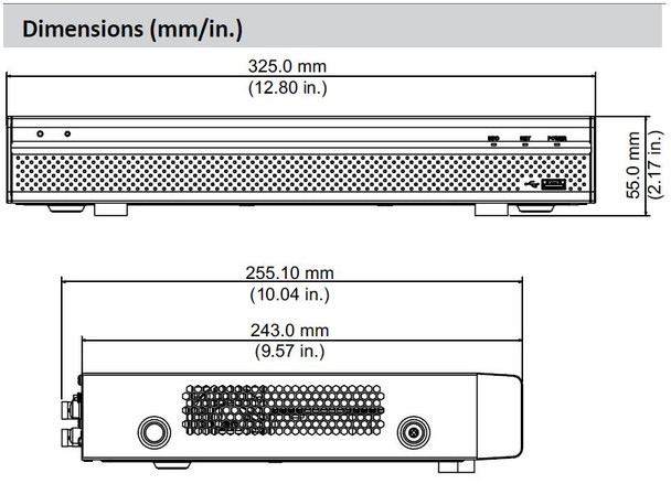 Dahua X51B1E 1080p H.265 4 Channel Penta-brid HD-CVI DVR