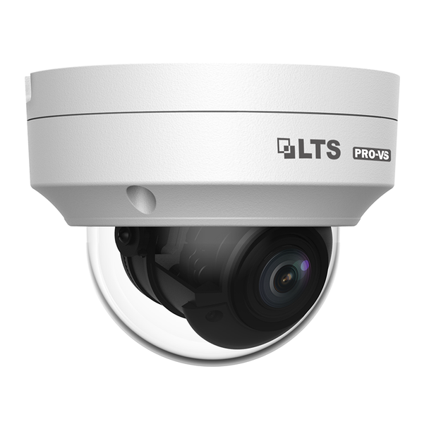 LTS VSIP7643W-SZ 4MP IR H.265 Outdoor Dome IP Security Camera with Motorized Lens