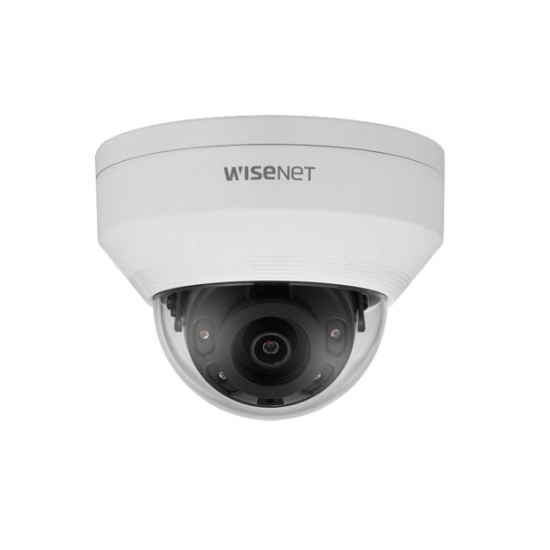 Samsung Hanwha LNV-6022R 2MP IR Outdoor Dome IP Security Camera with 4mm Fixed Lens