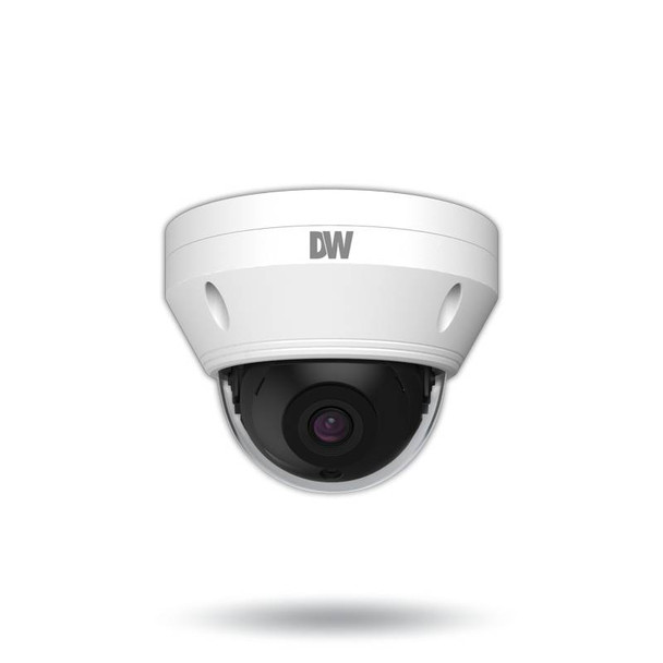 Digital Watchdog DWC-MV94Wi28T 4MP IR Outdoor Dome IP Security Camera with 2.8mm Fixed Lens and Microphone