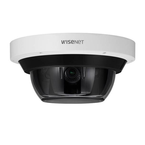 Samsung Hanwha PNM-9085RQZ 4x 5MP IR H.265 Outdoor Multi-sensor PTRZ IP Security Camera