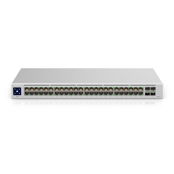 Ubiquiti USW-48 Fully Managed Layer 2 Switch with 48 Gigabit Ethernet Ports and 4x 1G SFP Ports for Fiber Connectivity