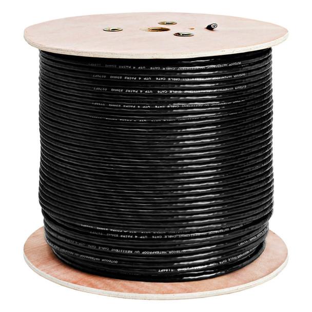 LTS LTAC2046BK 1000 feet CAT6 Network Cable, CCA UL