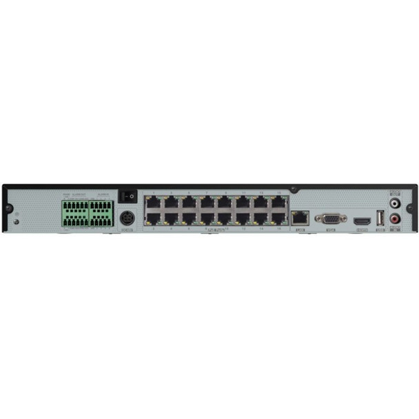 Speco N16NRE28TB 16 Channel 4K H.265 NVR with Facial Recognition and Smart Analytics with 28TB Storage
