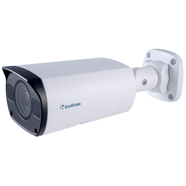 Geovision GV-TBL8810 8MP 4K IR Outdoor Bullet IP Security Camera with 4.3x Optical Zoom and AI