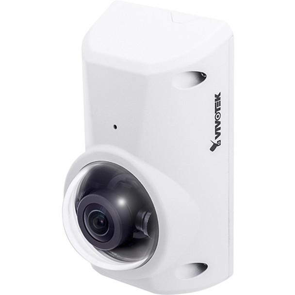 Vivotek CC9380-HV 5MP H.265 Anti-Ligature Outdoor Fisheye IP Security Camera with Built-in Microphone