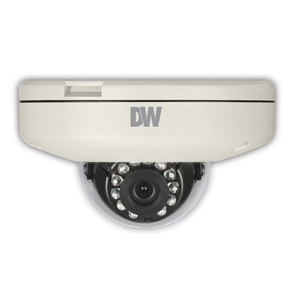 Digital Watchdog 2.1MP IR H.265 Outdoor Dome IP Security Camera with 4mm Fixed Lens, DWC-MF2WI4TW