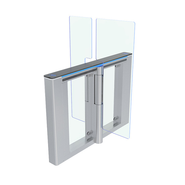Speed Gate with Double Tempered Glass Gate