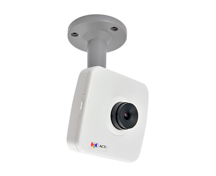 ACTi E14 10MP Indoor Cube IP Security Camera with 3.6mm Fixed Lens and Built-in Microphone