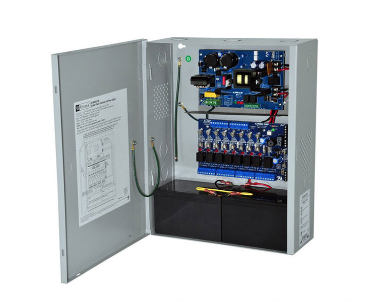 Altronix AL600ULACM 8 Fused Outputs Power Supply/Access Power Controller - 12/24VDC @ 6A