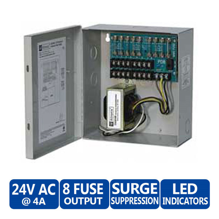 altronix power supply-ALTV-248 24vac 8 outputs