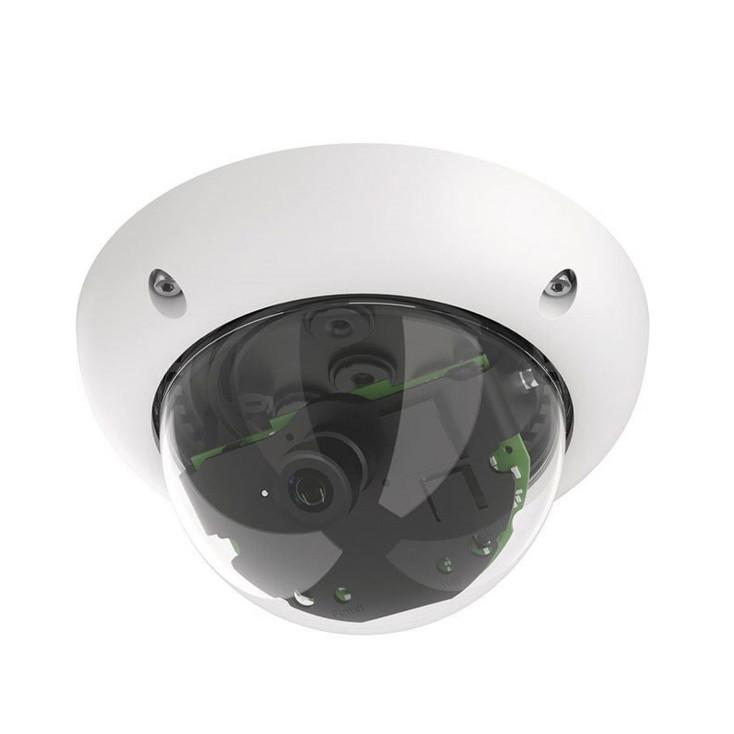 Mobotix MX-D25M-SEC 5MP Multi-sensor Outdoor Dome IP Security Camera - Body Only, Day, MxActivitySensor
