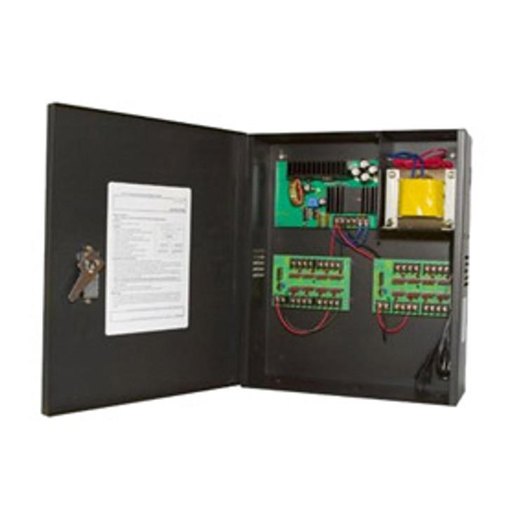 Samsung PWR-12DC-16-10 16-Camera 12VDC 10Amp Power Supply - for Analog Cameras
