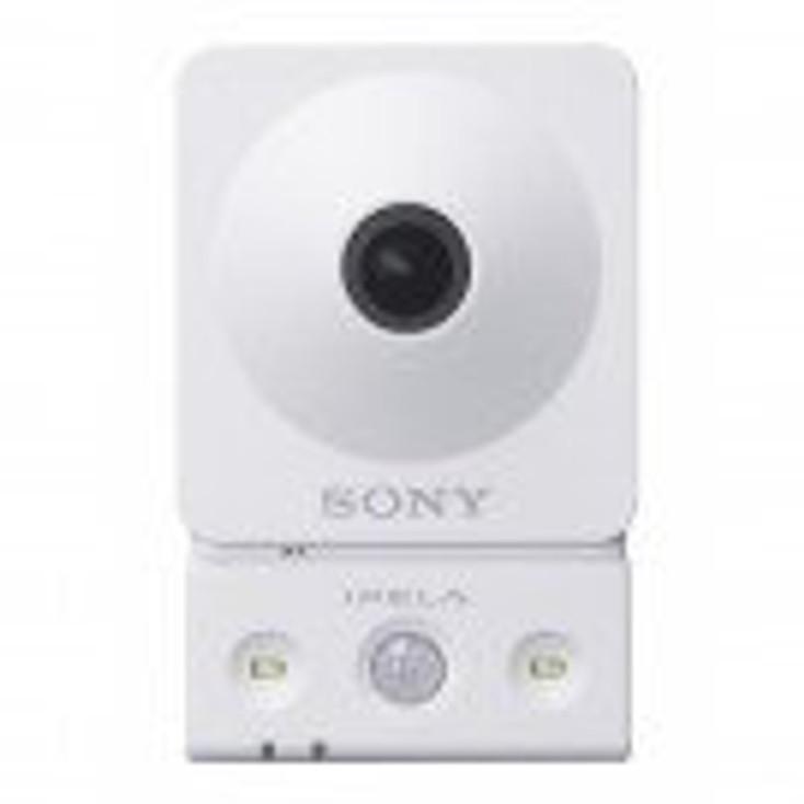 Sony SNC-CX600W 1.3MP IR Wireless Indoor Cube IP Security Camera