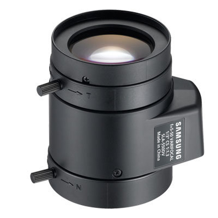 Samsung SLA-550DV CS-Mount 5-50mm Varifocal Lens