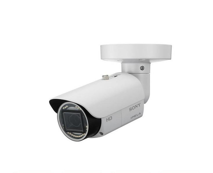 Sony SNC-EB632R 2.1MP IR Outdoor Bullet IP Security Camera - IPELA ENGINE EX, True Day/Night