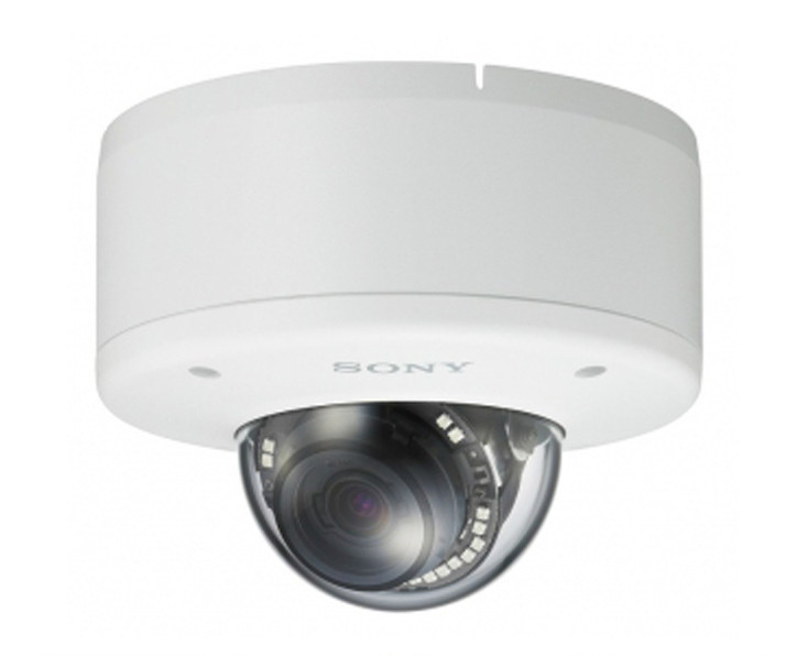 Sony SNC-EM602RC 1.3MP Outdoor Rugged Mini Dome IP Security Camera - 3x Optical Zoom, True Day/Night