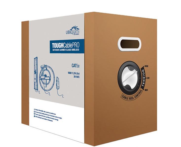 Ubiquiti TC-PRO TOUGHCable PRO Level 1 Outdoor CAT5e Cable (1000 ft)