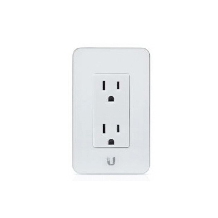 Ubiquiti MFI-MPW-W-US In-Wall Wi-Fi Wall Outlet