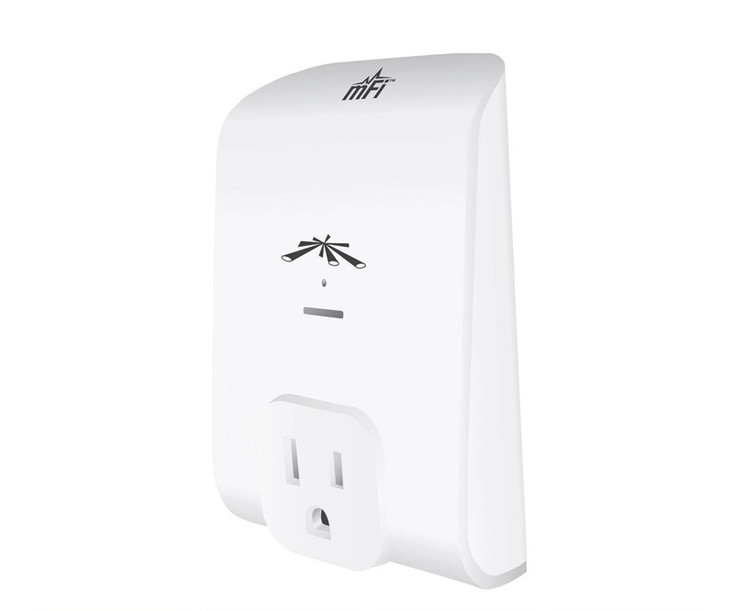 Ubiquiti MPOWER-MINI mini mFi Power Adapter with Wi-Fi Connectivity (1-Outlet)