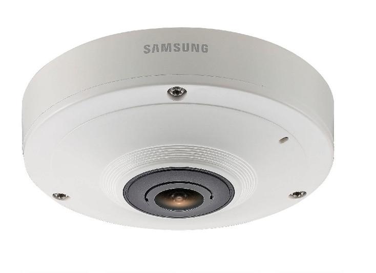 Samsung SNF-8010 5MP 360-degree Fisheye IP Security Camera