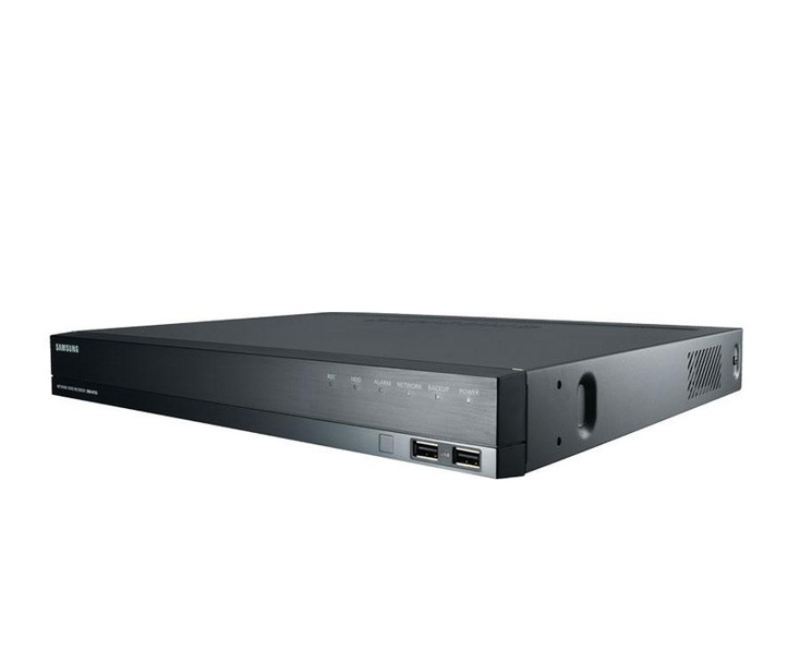 Samsung SRN-873S-4TB 8-Channel 4TB Pre-Installed NVR Network Video Recorder - Built-in PoE Switch