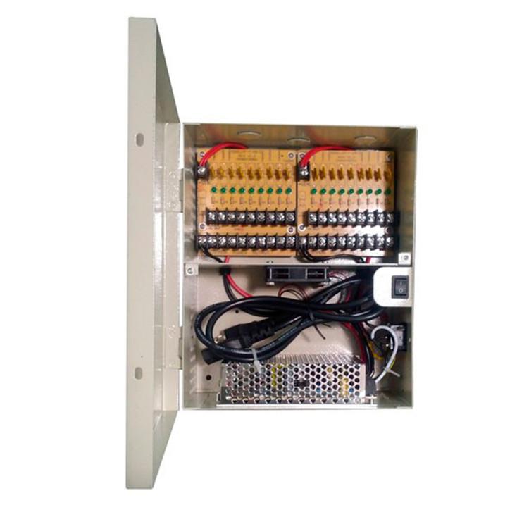 LTS DV-AT1212A-D18P 18 Port 12 Amp Indoor Power Supply