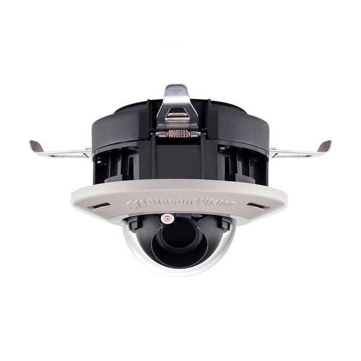 Arecont Vision AV2556DN-F-NL 2MP Dome IP Security Camera - No Lens Included, Built-in Microphone