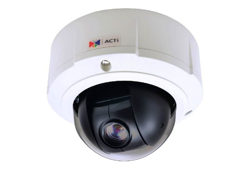 ACTi B96A Outdoor PTZ IP Security Camera - 5MP, Day/Night, 10x Zoom, Basic WDR, SD Card Slot