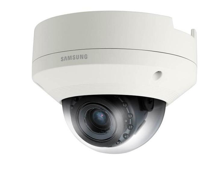 Samsung SNV-8081R 5MP IR H.265 Outdoor Dome IP Security Camera - True WDR, Weatherproof
