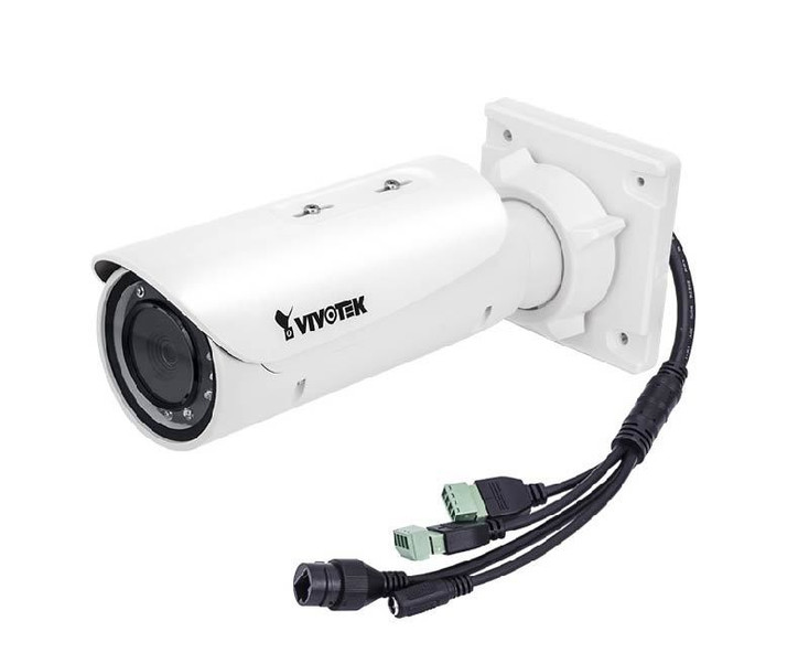"Vivotek IB9381-EHT 5MP Indoor/Outdoor Bullet IP Security Camera - 1/1.8"" CMOS, 5MP Sensor, 4~9mm Lens, WDR Pro, Day/Night, Extreme Weather"