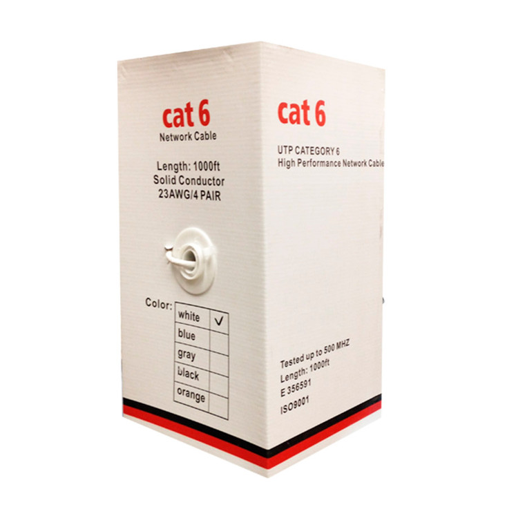 LTS LTAC2046 1000ft Commercial Grade 350Mhz CAT6 Network Cable