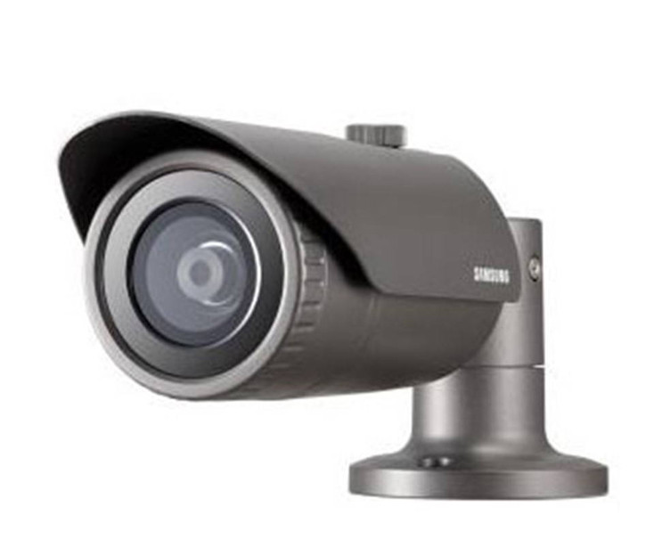 Samsung QNO-6020R 2MP IR H.265 Outdoor Bullet IP Security Camera - 3.6mm Fixed Lens,