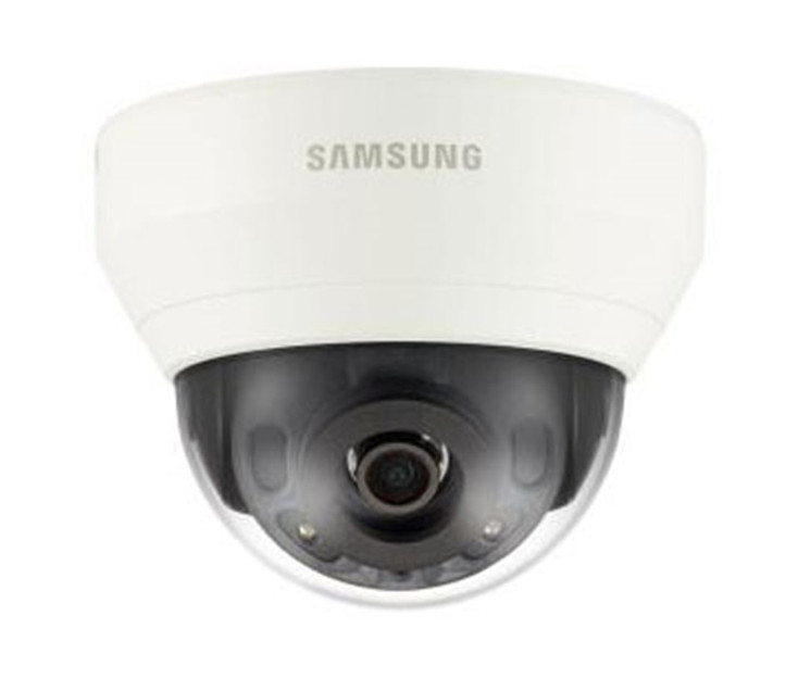 Samsung QND-6010R 2MP IR H.265 Indoor Dome IP Security Camera - 2.8mm Fixed Lens
