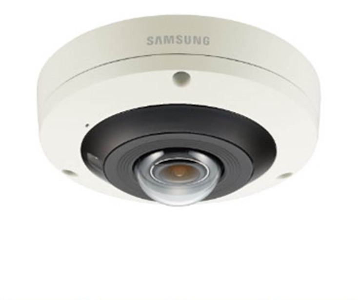 Samsung PNF-9010RVM 12MP 4K H.265 Outdoor Fisheye IP Security Camera - M12 Connector