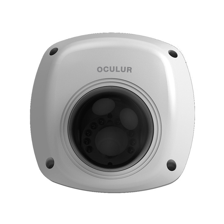 Oculur X4WF 4MP IR Dome Outdoor IP Security Camera with Night Vision and Built-in Mic