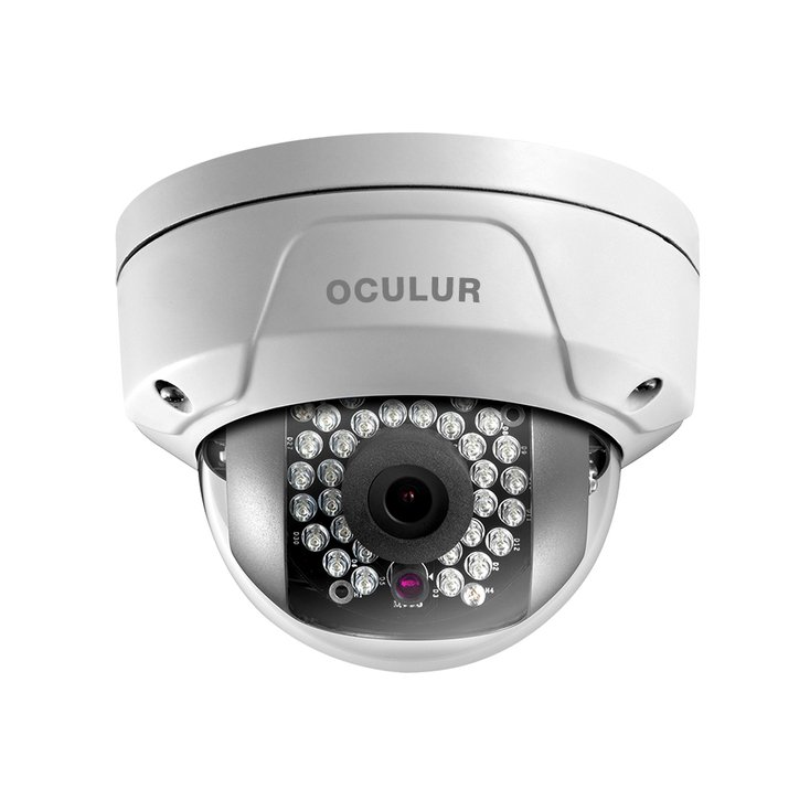 Oculur X2DFW 2MP IR Wireless Outdoor Mini Dome IP Security Camera