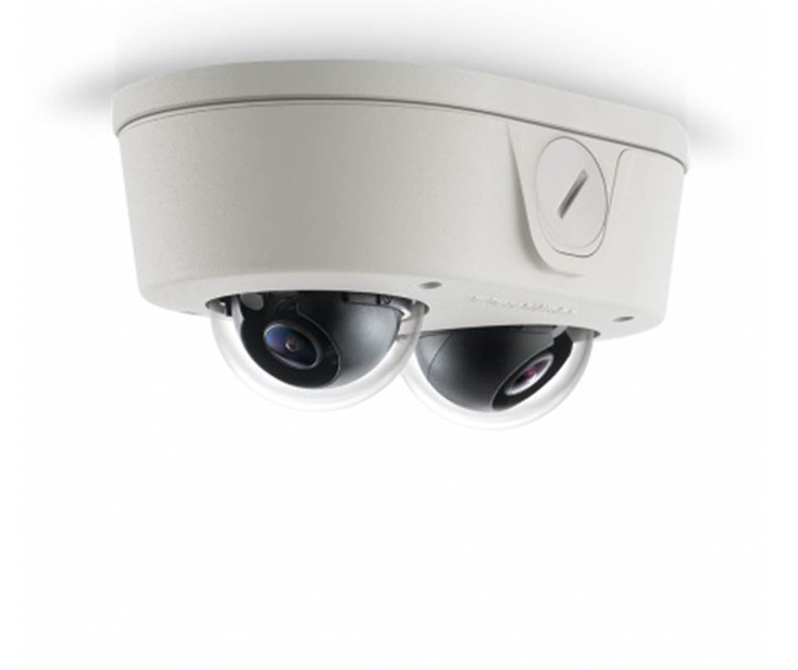 Arecont Vision AV6656DN-08 6MP Outdoor Micro Dome IP Security Camera - 8mm Fixed Lens, SNAPstream
