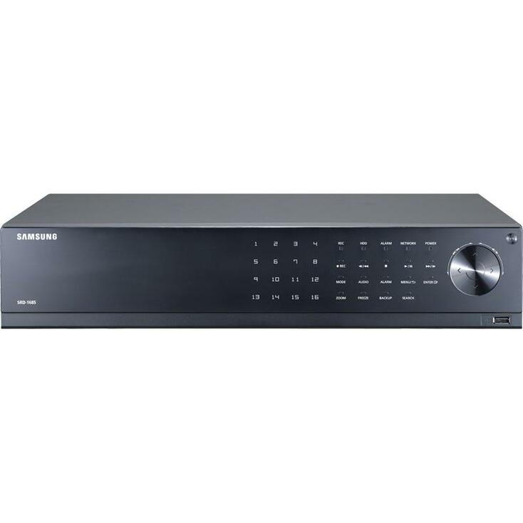 Samsung SRD-1694-4TB WiseNet 16-Channel 1080p Digital Video Recorder - with 4TB HDD
