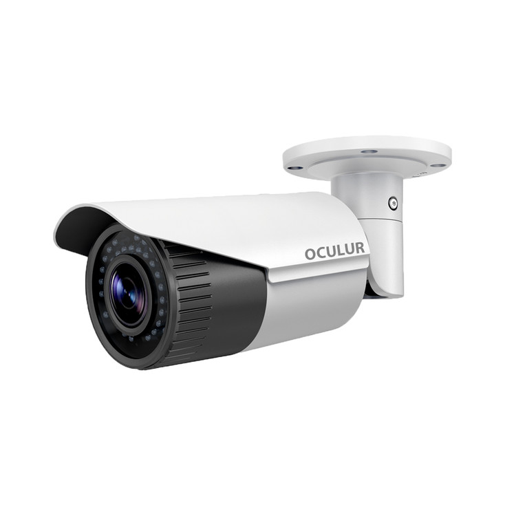 Oculur X4BZ 4MP Outdoor Bullet IP Security Camera with Motorized Lens