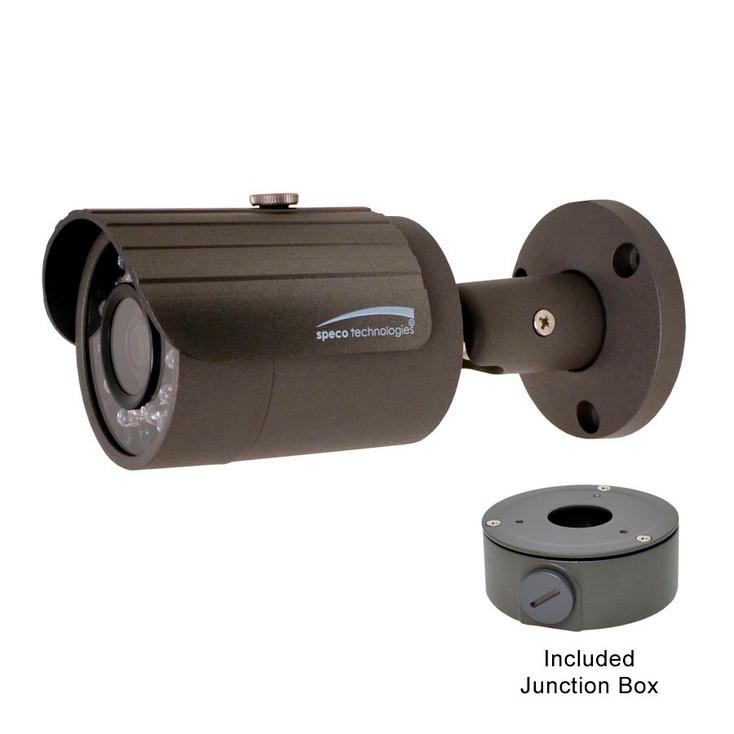 Speco O3VLB3 3MP IR Indoor/Outdoor Bullet IP Security Camera